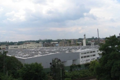 2006, Triwo Mainz, Montage PV-Anlage