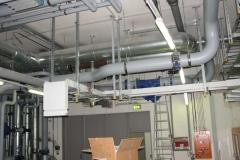 2010, IBM Ehningen, Stromschienenmontage