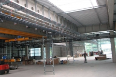 2008, Walther Werke Grünberg, Teilleistung Elektroinstallation