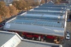 Stadtwerke Esslingen, Montage PV-Anlage